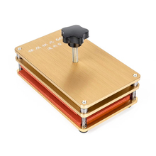 New LY 601A universal golden pressure mould for iphone Samsung huawei back glass middle frame compatible all mobiles