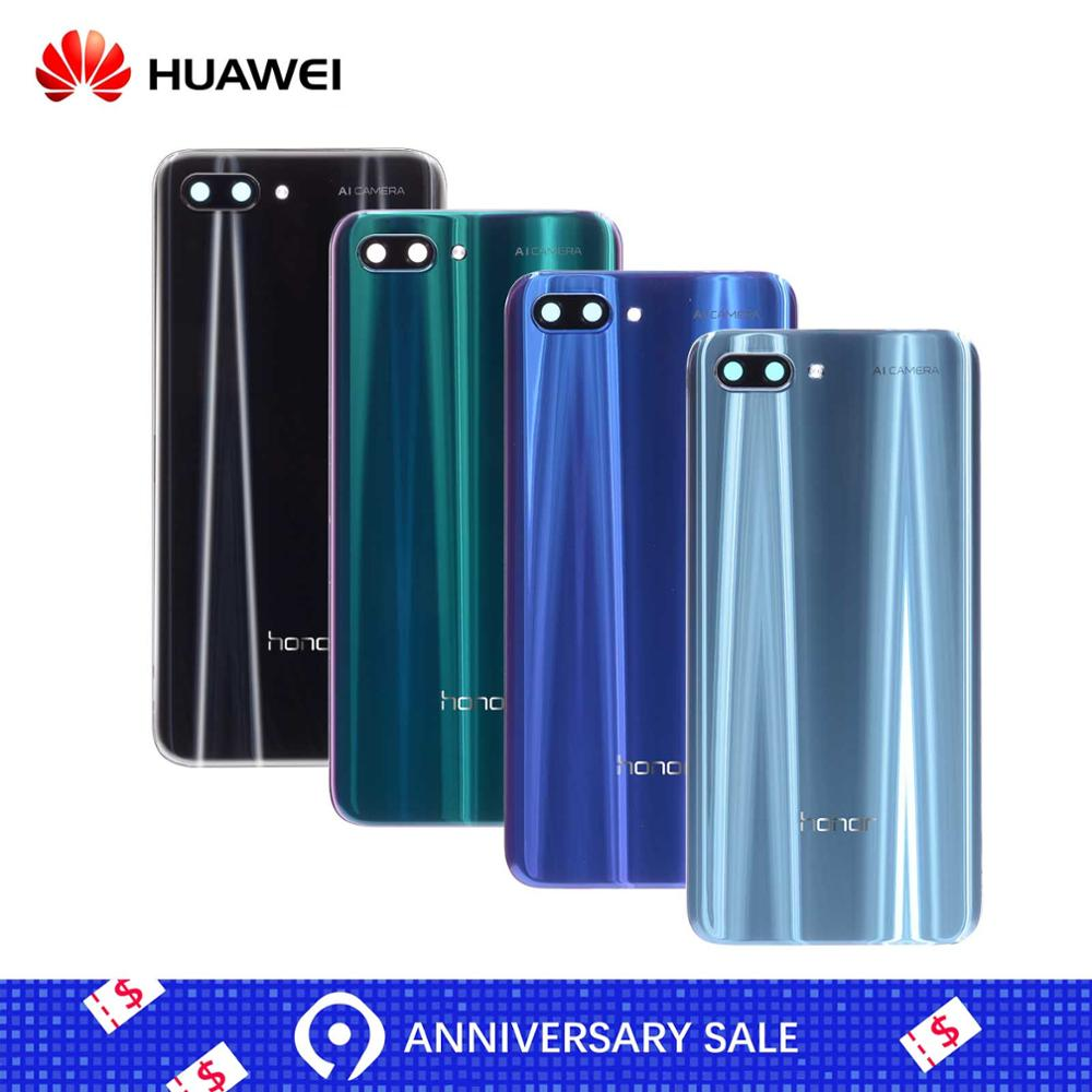Huawei Rear-Back-Housing Camera-Lens 10-Battery-Cover Honor Original Back-Glass-Replacement