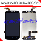 Black 100% New Full LCD DIsplay + Touch Screen Digitizer Assembly Replacement For ZTE Allstar Z818 Z818L Z818G Z819C Z819L