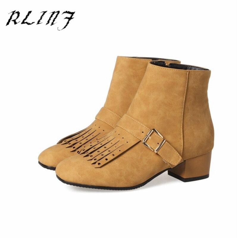 Large Bottes Et Travail Noir Chaussures Gris Rlinf Courtes Femmes gris Avec 45 Élégant De Jaune Extra 32 or Printemps Automne Épais PikXZuO