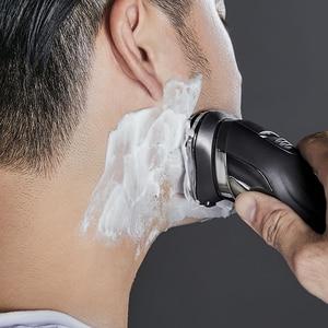 Image 3 - SOOCAS SO WHITE PINJING maquinilla de afeitar eléctrica para hombres lavable USB recargable 3D cabeza de corte flotante Control inteligente barba de afeitar