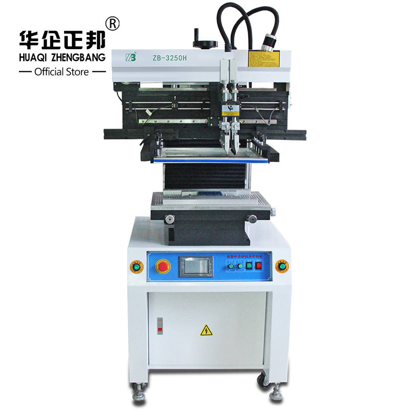 Smt Semi Automatic Solder Paste Stencil Printer /SMT LED Production Line PCB Stencil Silk Screen Printer