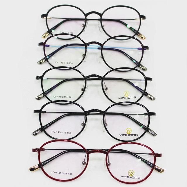 Exceder luz tungstênio titanium armação de óculos de plástico senhora alta vai enquadrar miopia moldura maré miopia óculos oculista