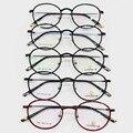Luz de tungsteno titanium montura de gafas de plástico señora de alta se exceden marea gafas de miopía óptico marco miopía marco de imagen