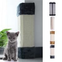 Cat Scratches Board Pet Kitten Wall Corner Scratching Mat Post Tree Scratcher Sisal Hemp Kitty Pet Plush Flying Toys
