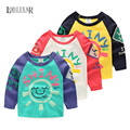 Baby Boys Girls Clothes, Cartoon Cotton Letters Long Sleeve T-shirt, Kids Bottoming Shirt Children Clothing, Spring Autumn Tees