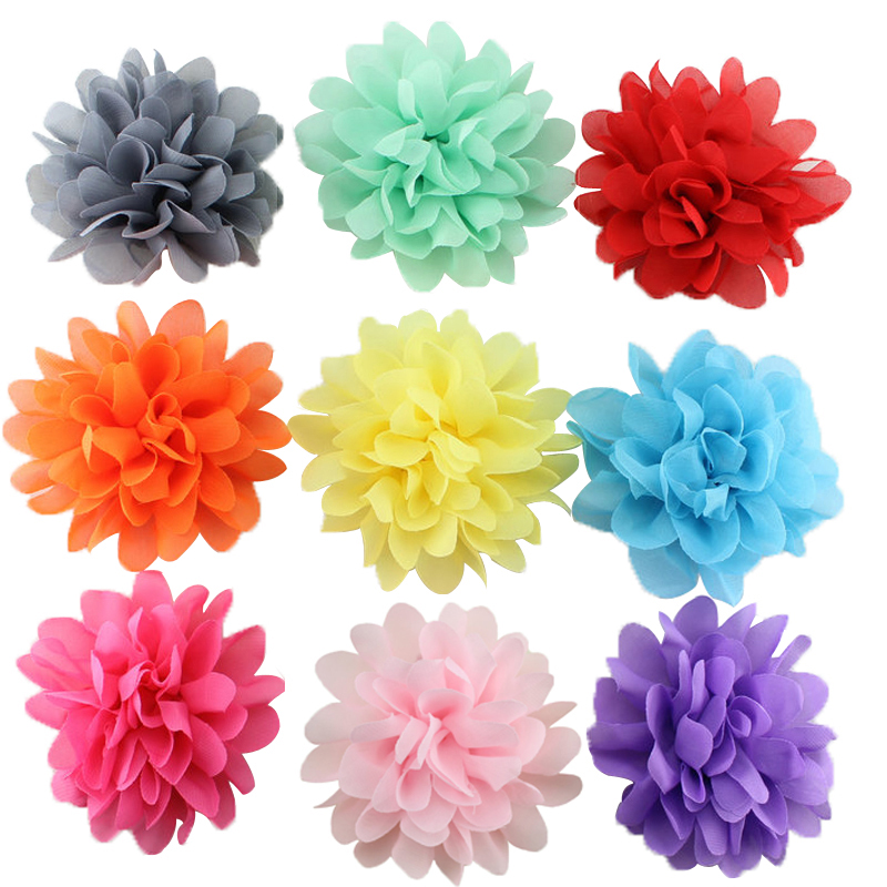 10 pcs/pack Cute   girl hair clips chiffon flower hairpins kids hair accessories потолочна лстра mantra zen chrome 1422