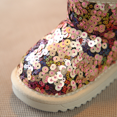 botas de algodao moda princesa botas crianca boots21 30