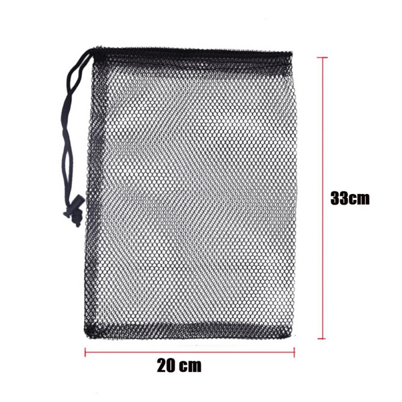 Nylon Mesh New Golf  Nets Bag Pouch Golf Tennis Keep Up 50 Balls Holder Golf balls Storage Clasp Training Aid Bag 30*20cm-in Golf Training Aids from Sports & Entertainment