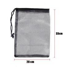 Nylon Mesh New Golf  Nets Bag Pouch Golf Tennis Keep Up 50 Balls Holder Golf balls Storage Clasp Training Aid Bag 30*20cm цены