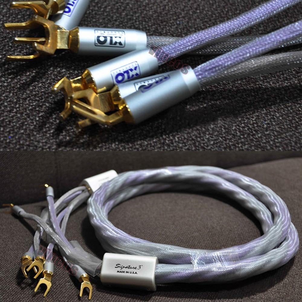 XLO Signature 3 Speaker Cables 2.5M Y spade connectors-in Audio ...