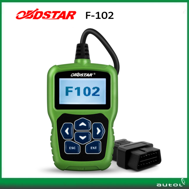 OBDSTAR F102 for Nissan/Infiniti Auto key programmer Automatic Pin Code Reader F102 with Immobiliser and Odometer Function