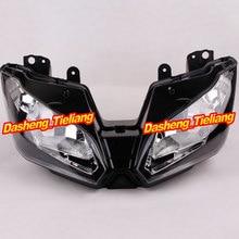 Front Headlight Headlamp For KAWASAKI NINJA 300 300R 2013-2014, Motor Head Lighing Light, Black Color