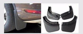 Set Of 4 Wheel Mud Flaps FOR VW Touareg 2011-2016 for Volkswagen Touareg Splash Guard Fender Mudapron