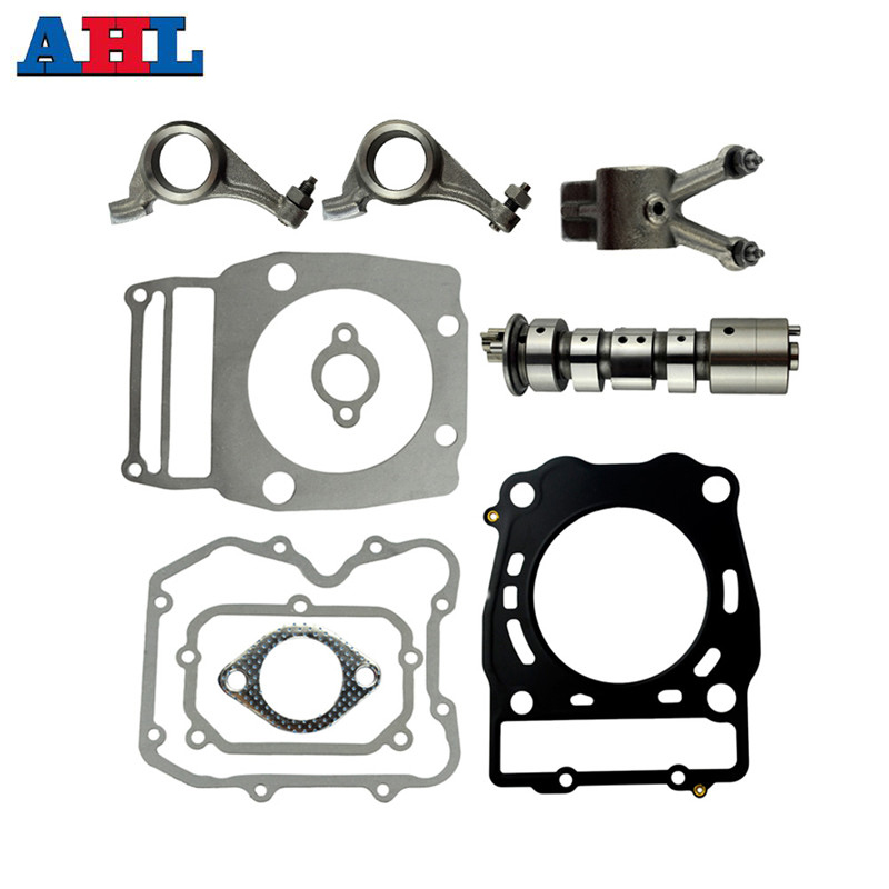 Motorcycle Parts Camshaft Cam Shaft Rocker Arms Gasket Kits For Polaris SPORTSMAN 500 450 Ranger 400 Big Boss 2X4 4X4 left front brake master cylinder for polaris sportsman 400 500 550 600 700 800 atv magnum 425 2x4 4x4 300 450 400