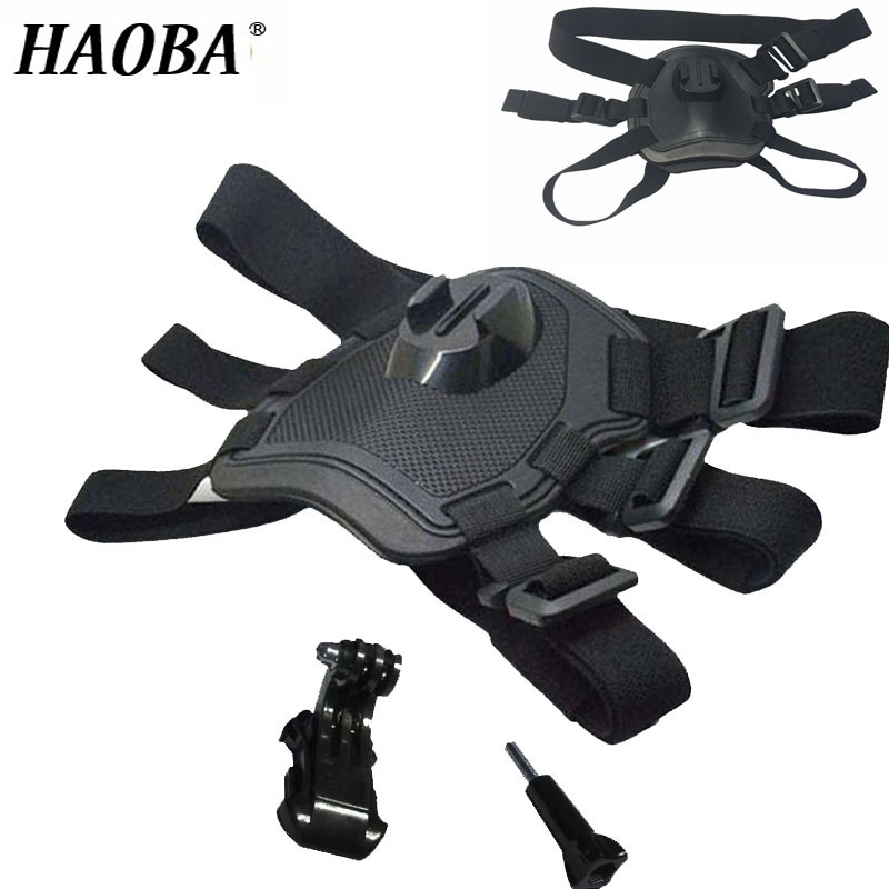 HAOBA Camera Strap Dog Chest Strap For Outdoor Photography GoPro 4 3 Sports Camera Accessories SJ4000 Xiao yi