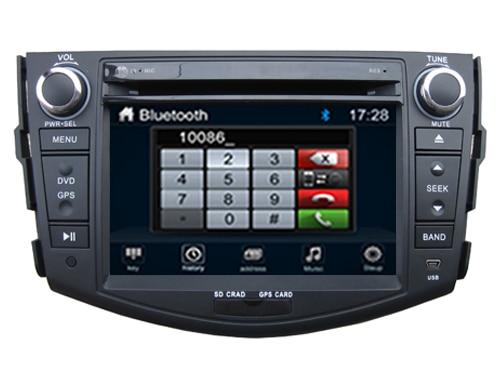 Wince 6 0 CAR DVD PLAYER Sunplus 8288T solution FOR toyota RAV4 2008 2012 Autoradio stereo
