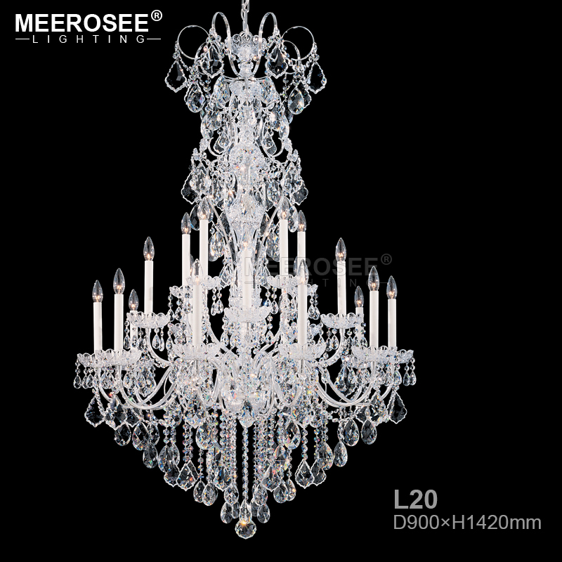 Large Chandelier Modern K9 Crystal Chandeliers lustres de cristal lamparas Long Chandelier Lighting Fixture For Living Room modern water plant chandelier creative wood glass lustres living room cafe clothing store decorative chandeliers lamparas de tec