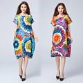 Vestidos de Ropa de Maternidad de Moda de Manga corta Cuello de O Verano Ropa Suelta para Las Mujeres Embarazadas Ropa Embarazo Plus Tamaño B113