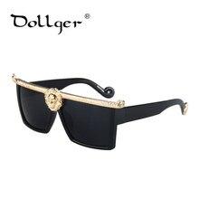 08ca16ff1d84be DOLLGER De Luxe lunettes de Soleil Hommes Or Vintage Lunettes de Soleil  Femmes Marque Designer Lunettes Cadre Mode 2017 Style S1.