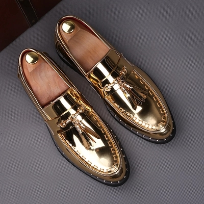 Free ship mens tuxedo shoes shining golden/black/red fashion braid shoes/event/ stage performance shoes/photo-shooting shoes