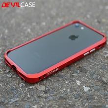 Devilcase тип один бампер для iPhone 7 7 plus Мода алюминиевого сплава металлическая оправа для iPhone7 7 +