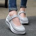 Top Sale Women Casual Shoes Low-Cut Flat Platform Shoes Durable Round Toe Flats Female Wedge Shoes Sapatos