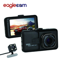 Car DVR Car Camera Dash Cam Dash Camera Video Recorder Dual Camera Eaglecam DVRS T636 1080P Full HD 170 Degree angle G sensor