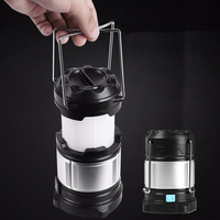 Portable LED Camping Lantern Rechargeable USB Power Bank Tent Camping Lights 18650 Flashlights Outdoor Lighting Work