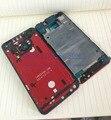 Оригинальный задняя крышка аккумулятора корпус дверь чехол для HTC M7 жк несущий каркас со вспышкой / объектив камеры + боковые кнопки