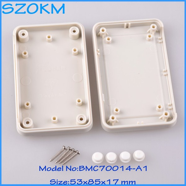 4 pcs lot abs electronic box pcb enclosure box electronic project junction block 53 x 85x