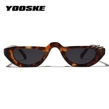 YOOSKE Cat Eye Sunglasses Women Luxury Brand Men Su