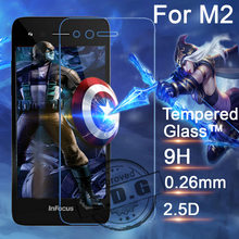 0.26mm 9H Explosion Proof Anti scratch LCD Tempered Glass Film For Foxconn Infocus M2 M810 Screen Protector Film(China)