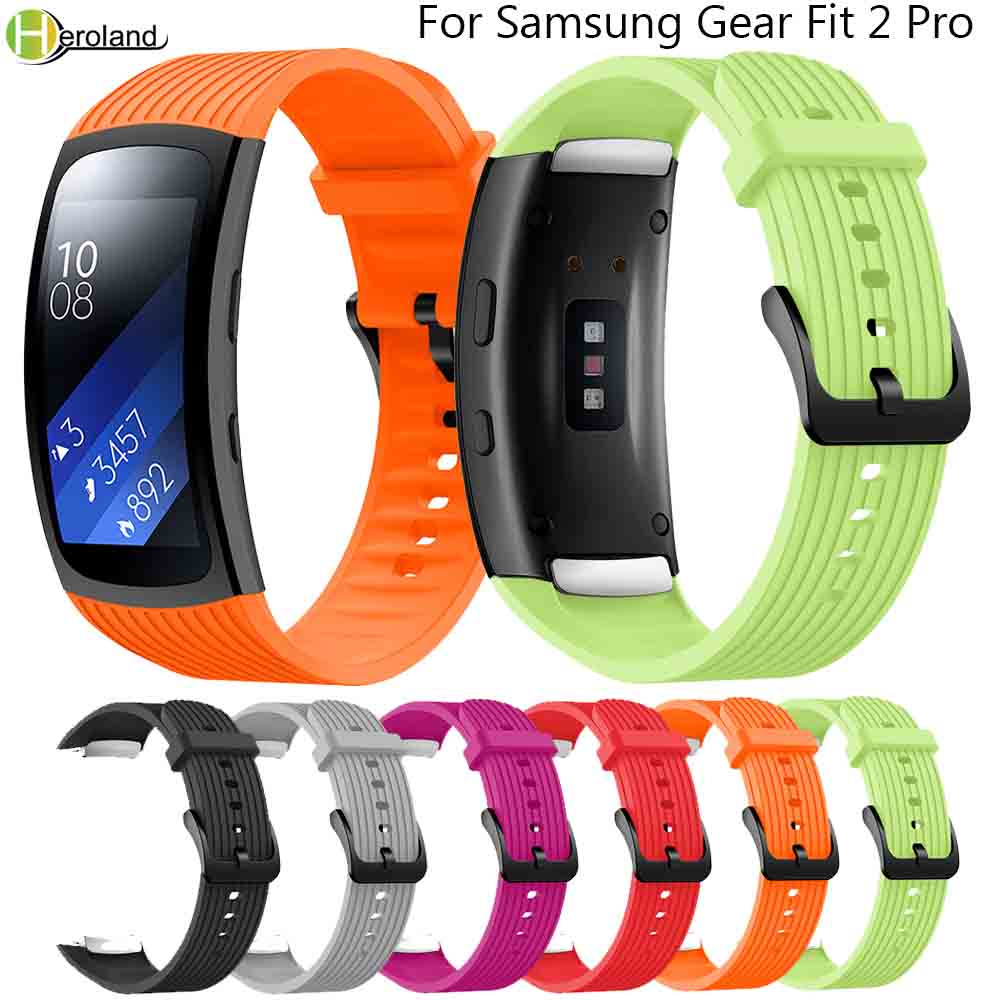 Wristband For Samsung Gear Fit 2 Pro Band Sport Replacement Smart Watch Band Wrist Bracelet Straps For Samsung Fit2 SM-R360