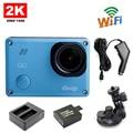 Frete Grátis!! GitUp Git2 Novatek 96660 Câmera de Ação de Esportes Wi-fi 2 K + Extra 1 pcs Bateria + Carregador de bateria + Suporte para Carro + Carregador de Carro