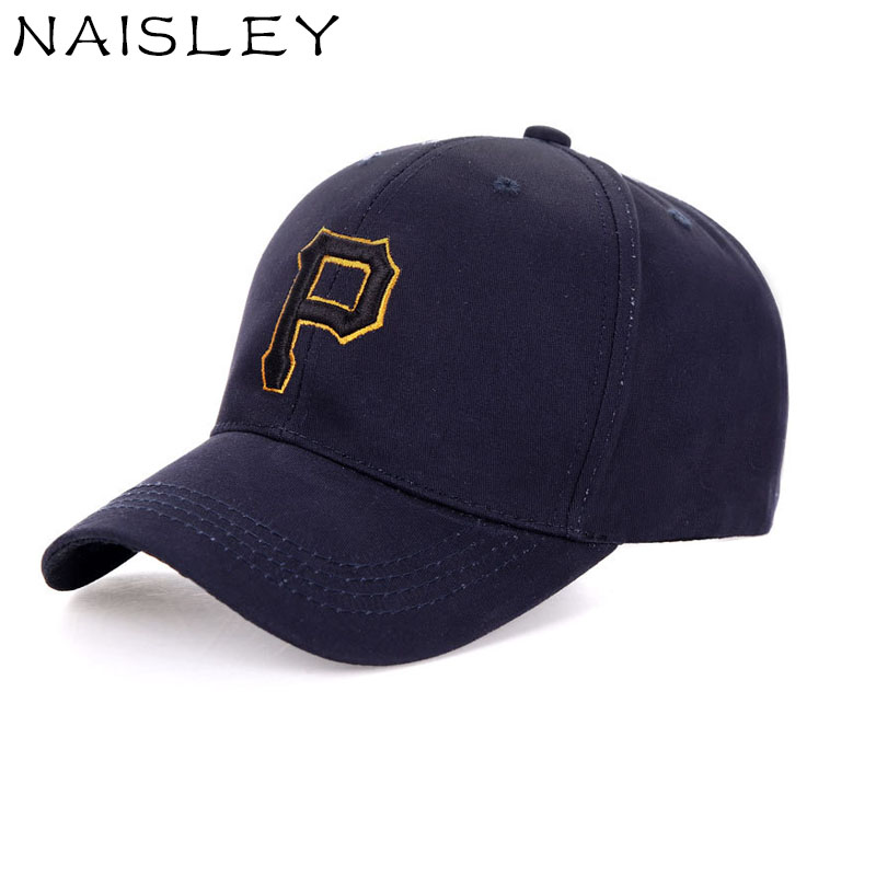 NAISLEY Spring Summer Baseball Cap Snapback Hat Cotton Embroidery P Letter Cap Men&Women Fashion Trend Truck Hiphop Dad Cap Hats 2017 bigbang 10th anniversary in japan made tour tae yang g dragon ins peaceminusone bone red baseball cap hiphop pet snapback