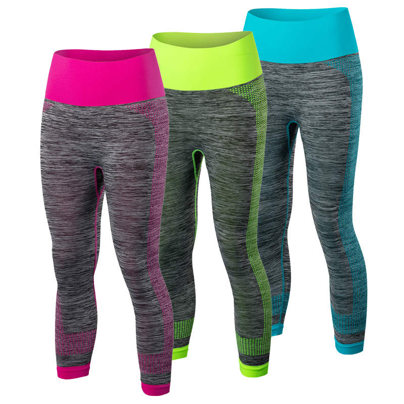 Sommer Yoga Bukser Klesklær Fitness Sport Bukser Gym Leggings Running Sports Tights Jente Fitness Yoga Running Bukser 5081