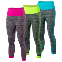 Summer Yoga Pants Women's Clothes Fitness Sports Trousers Gym Leggings Running Sport Tights Girl Fitness Yoga Running Pants 5081