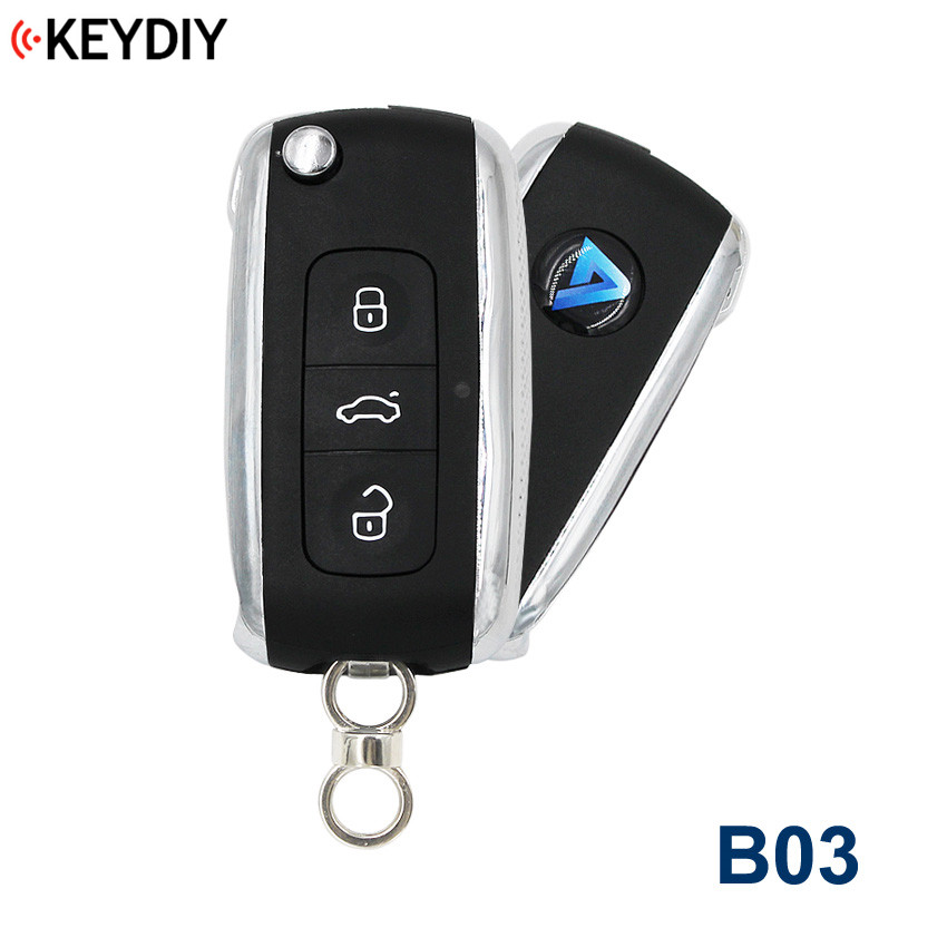 B03 Original Universal Remote Control Key For KD900 KD900+ URG200 KD-X2 3 Buttons For Bentley Style