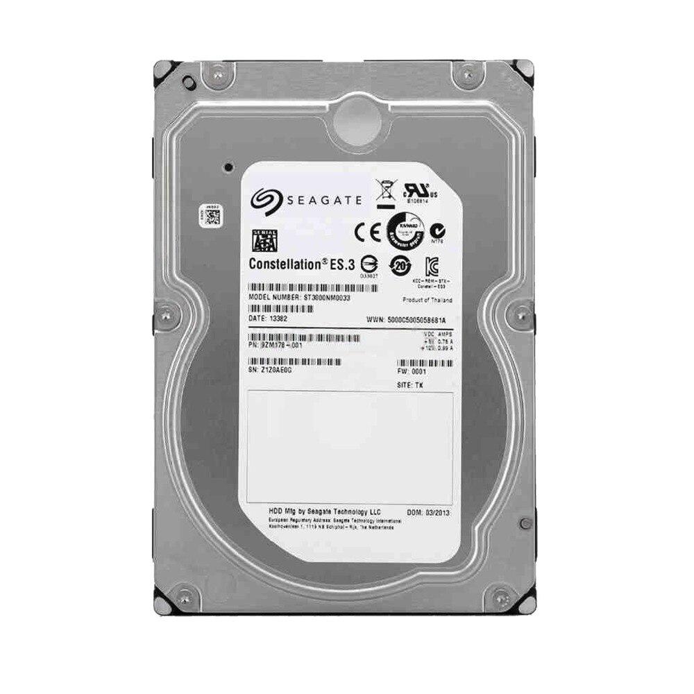 Seagate ST3000NM0033 3 to capacité d'entreprise HDD SATA 6 Gb/s 128 mo Cache 3.5 pouces lecteur nu interne