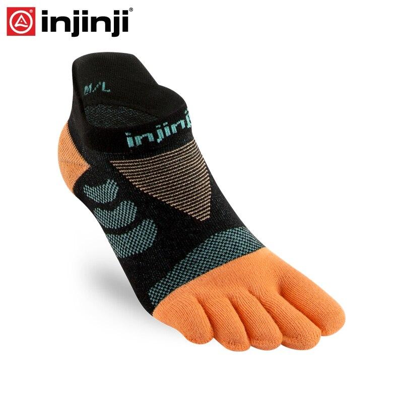 Injinji Toe Socks 2019 Women's Ultra Run No-show Coolmax Five-finger Running Socks Women