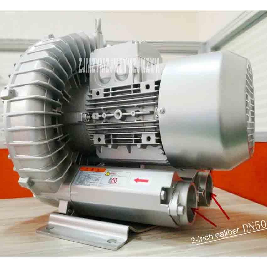 New Arrival RT-H714BS High Pressure Vortex Fan Aerator Blower Suction Pump Vacuum Pump Vortex Blower 4KW 380V 2850r/min 318m3/h 2rb230 7ah160 high pressure blower ring vortex blower high prssure air pump 220v 380v 50hz 60hz 0 4kw 0 5kw 2 6y
