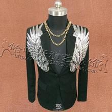 Costumi nero Vestito Ala