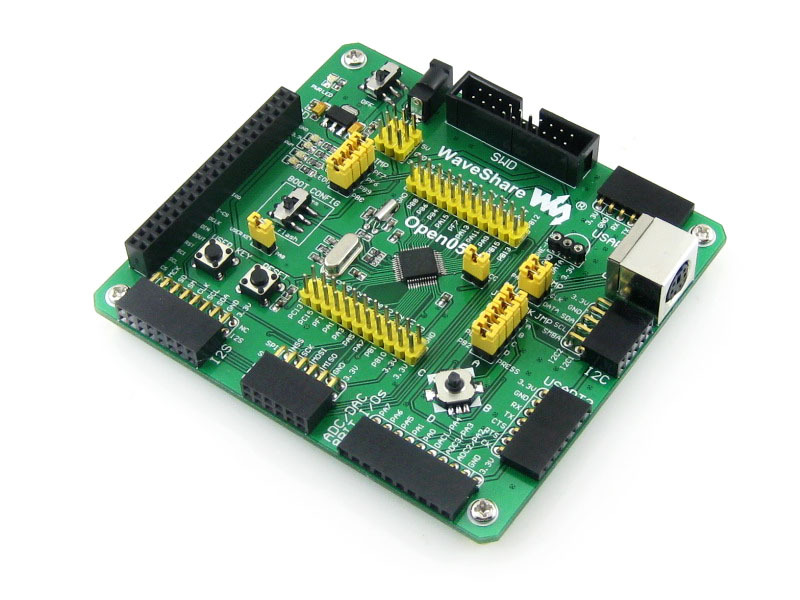 STM32F051C8T6 STM32F051 development board STM32 core board + PL2303 module stm32f103c8t6 stm32 core board development board module black blue