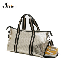 c0346be9c7c1 kendome Large Capacity Travel Sports Fitness Shoes Storage Lady Duffel Gym  Bag. US  23.57   piece Free Shipping