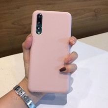 High quality Soft Silicone For Huawei P20 Cases Cute Ultra Thin TPU Original Cover Pro Lite Case Woman