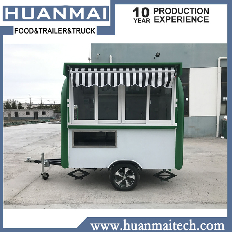 d5ff197234 Mobile Catering Trailer Food Truck Trailer Coffee Van Crepe Cart essieu  remorque remorque agricole-in Trailer from Automobiles   Motorcycles on ...