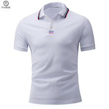 2019 Summer Men Polo Shirt Brand Clothing Pure Cotton Business Casual Male Short Sleeve Breathable 4XL