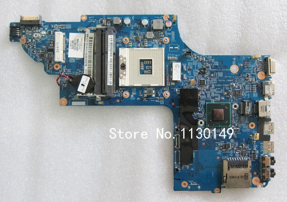 682177-001 682177-501 For HP DV6 DV6-7000 Laptop Motherboard notebook mainboard 48.4ST04.021 fully test well wholesale laptop motherboard 682171 001 for hp envy dv6 dv6 7000 630m 2g notebook pc systemboard 682171 501 90 days warranty