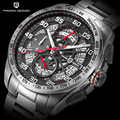 Оригинальный дизайн PAGANI Топ люксовый бренд спортивные хронограф мужские часы водонепроницаемые кварцевые часы Relogios Masculino saat